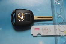 3 Buttons Remote Key Case Replacement Car Key Shell Cover Fit For Lexus RX300 ES300 Free Shipping(China)