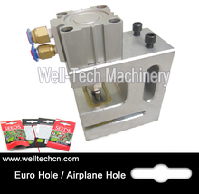 Customizable Airplane Hole Puncher Pneumatic Punch Machine Sizes 30mm*12mm*6mm Air Butterfly Pneumatic Puncher