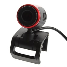 Laptop PC USB 2.0 Clip WebCam Web Camera w/ Mic Microphone Newest Drop Shipping(China)