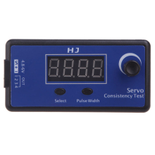 HJ Digital Servo Tester/ESC Consistency Tester For RC Helicopter Aircraft Car(China)
