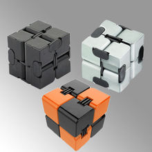 2017 New Practical Jokes Creative Infinite Cube Decompression Rubik Square Antistress Resistance Anxiet