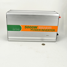 5000W dc 12V 24V 48V to ac 110V 220V modified LED sine wave inverter LED Digital display made in China CE ROHS UPS charger