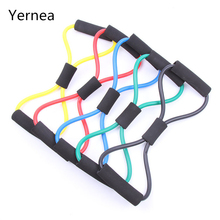Fitness Resistance Bands Latex Training Elastic Sports Bands Pull Rope Tube Workout Exercise Yoga Body Fitness Equipment Yernea