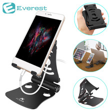 ACGAM Mobile Phone Stand Holder 360 Degree Rotate Tablet PC Laptops Lazy Support Holder Bracket For Apple iPhone Samsung Tablets(China)