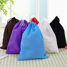 39*30cm Nonwovens Storage bag Dust Bag Handbag Travel Sundries Storage  Kids Toys Travel Shoes Laundry Lingerie Makeup Pouch
