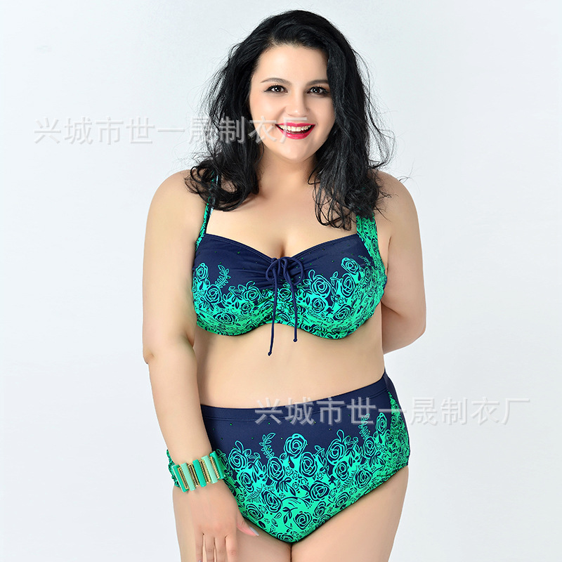 2017 new brand aliexpress EBAY plus Feipo XL swimwear bikinis high-end printing drilling 6XL<br><br>Aliexpress