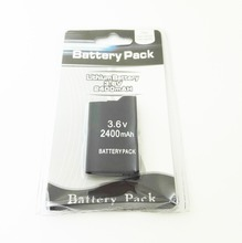 1pcs 2400 mAh battery for PSP3000 for PSP2000 for PlayStation Portable, For PSP3000, for psp-2000 free delivery
