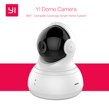 "[International Edition] Xiaomi YI Dome Home Camera 112"" IP Camera 720P Xiaoyi 360"" PTZ WiFi Webcam Infrared Night Vision"