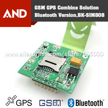 GSM GPS SIM808 Breakout Board,SIM808 core board,2 in 1 Quad-band GSM/GPRS Module Integrated GPS/Bluetooth Module(China)