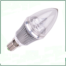 10pcs led candle light e14 6w  led bulb 12VDC / AC85-265V E14 WW 3000k / White 4000k / Cold white 6000K Candle Light