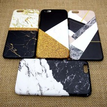 2017 For iPhone 7 plus Phone Case Fashion Marble Coque Cover For iPhone 6 6s Plus 5s SE 3D Thermal Transfer Process Surface