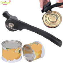 Delidge 1 pc 18.5*6 cm Can Bottle Opener Metal+PP MultiFunction Luncheon Meat Fruit Fast Food Canned Can Opener Kitchen Things(China)