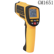 Buy Laser Temperature Gun Digital Infrared Thermometer GM1651 Non-contact Thermoeter Tester Range -30~1650 Degree USB Interface for $102.00 in AliExpress store