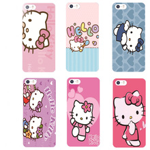 Cute Hello Kitty Mobile Phone Case For iPhone5 5S SE 6 6S 6s plus cartoon Silicone soft Ultra slim silica gel Tpu Phone Cover