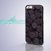 Coque Chocolate Sandwich Biscuit Phone Cases for iPhone X 8 8Plus 7 6 6S 7 Plus SE 5S 5C 5 4S 4 Case for iPod Touch 6 5 Cover.(China)