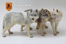 Mr.Z Real Animal Series No.7 1/6TH Scale Direwolf Statue 1/6 Simulated Animal Steppe Wolf for Action Figure scene accessory DIY