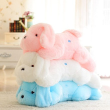 LED Doll Glow Lies Prone Dog Cute Pillow Gleamy Stuff Toy Soft Creative 3 Colors FREE SHIPPING