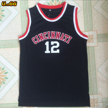 Uncle GG 2018 Cincinnati Bearcats College Basketball Jersey #12 Oscar Robertson Jersey Cheap Throwback Basketball Jerseys(China)