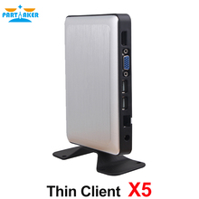 Fanless Cloud Computer RDP8 Thin Client X5 for Windows MultiPoint Sever and Windows 8