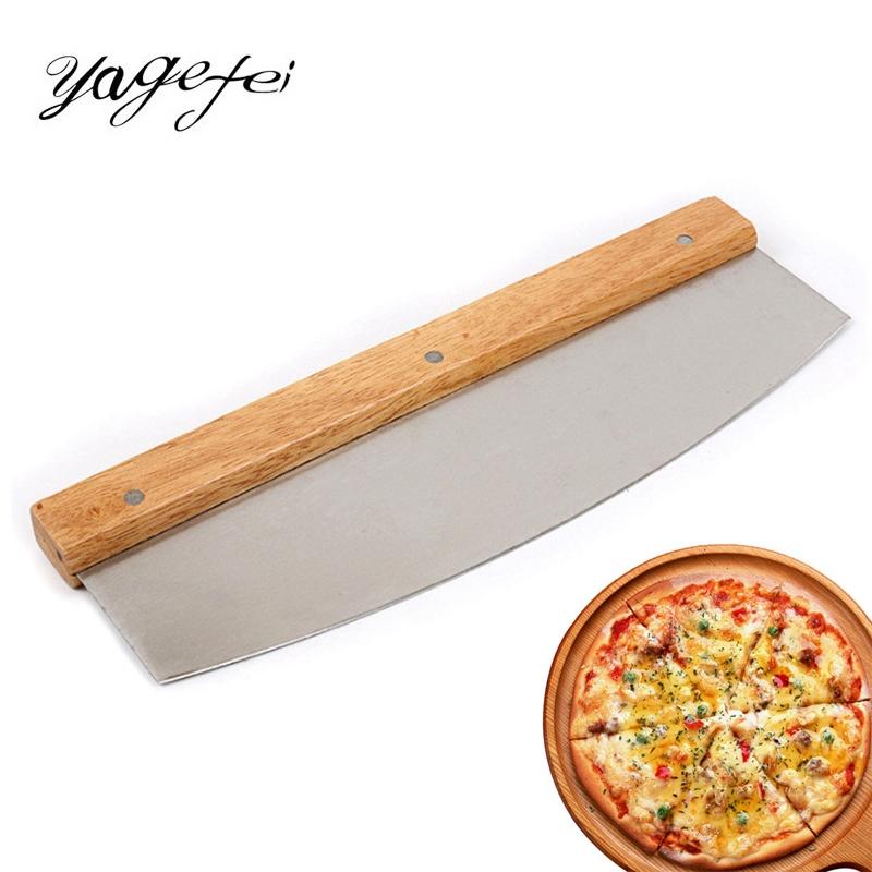 mango de silicona antideslizante con hoja afilada de acero inoxidable muy f/ácil de limpiar Cortador de pizza cortador de pizza