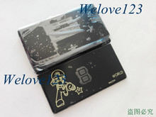 For Nintendo World New York Edition Black Color Complete Housing for NDSL DSL Game Console with Full Parts