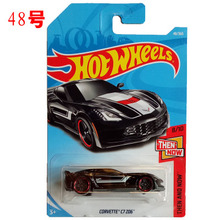 New Arrivals 2018 8b Hot Wheels 1:64 black corvette c7 z06 Car Models Collection Kids Toys Vehicle For Children hot cars