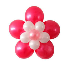 5 PCS Festive Lots Flower Balloons Plum Clip Tie Birthday Wedding Party Decor Supplier