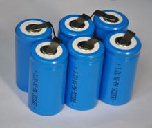 20%OFF 6pcs/Lot Sub C sc size Ni-Mh nimh 1.2V rechargeable battery cell 2000mah with tab for power tools,vacuum cleaner