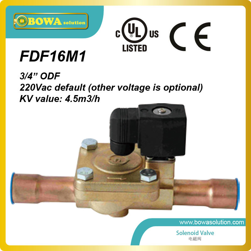 3/4 Liquid Line Solenoid Valve HVACR replace Parker Refrigeration Solenoid Valves or Danfoss Refrigeration Solenoid Valves<br><br>Aliexpress