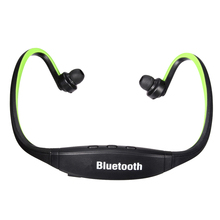 Headphones Bluetooth Wireless Stereo Headset Speakerphone Case For Iphon e 6 Samsung HTC LG, Black Green