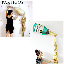 Buy 6pcs Large Champagne Wine Bottle Cup Foil Balloon Gold Foil Tassel Wedding Birthday Party Decoration Supplies Gifts for $2.06 in AliExpress store