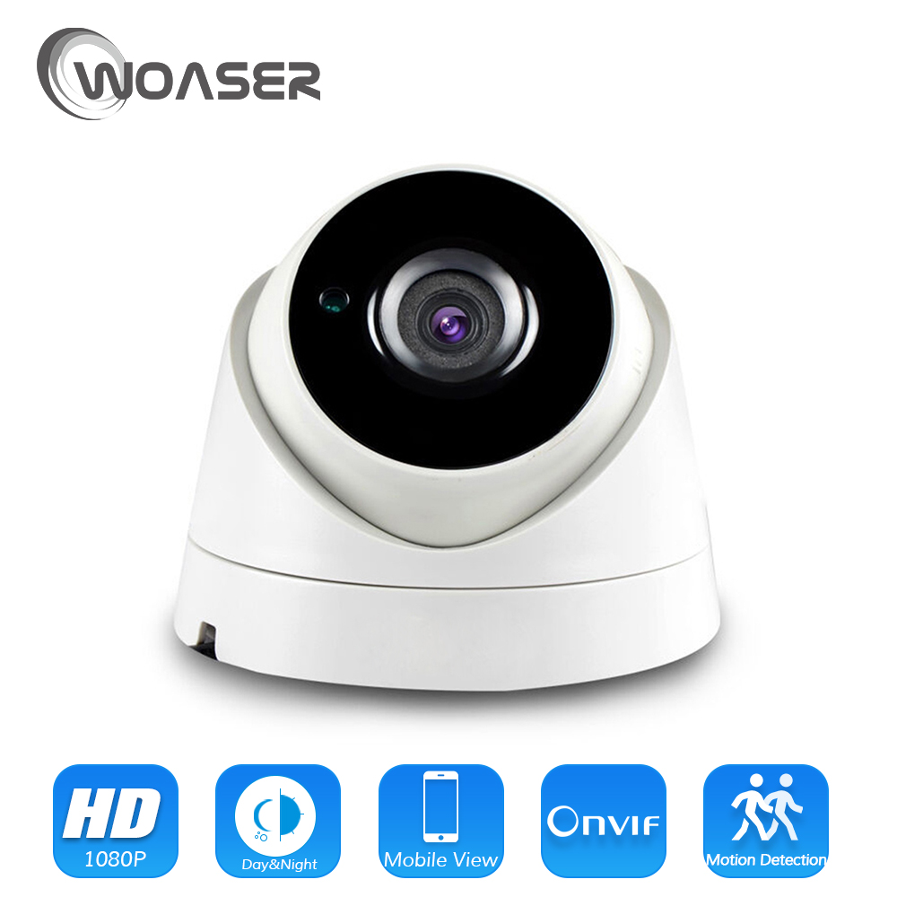 WOASER 2.0MP IP Camera H.264 Motion Detection Night Vision CCTV Dome Surveillance HD 1080P Camera Security ONVIF XMEYE Camera<br>
