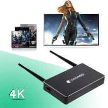 New Mini 1G/8G Intelligent Network Player Device 4K Decoding HD Android TV Box + Media Center Infrared Remote Control   LY4