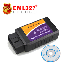 Wholesale Price BT ELM327 Bluetooth OBDII V1.5 CAN-BUS Diagnostic Interface Scanner,Bluetooth ELM 327 OBD 2 Car Scan Tool(China)