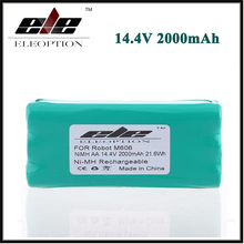 Eleoption 14.4 Volt 14.4V 2000mAh 2.0Ah Ni-MH High Quality Replacement Vacuum Battery for Libero Vacuum 0606004, M606