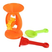 New 3pcs/set Children Play Hourglass Sand Beach Toys Seaside Water Toy Horse Hourglass dolphin Molds Funny Tools Toy Gift