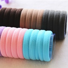 Candy Color Women Fluorescence Holders Rubber Bands Elastics Hair Tie 24pcs/lot