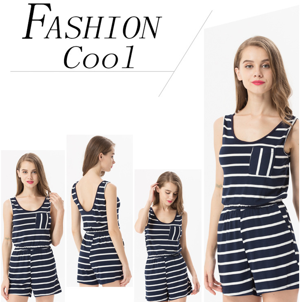 Siskakia mody młodzieżowej Letnie nastolatek dziewczyny Playsuit Przebrania paski patchwork slim fit krótkie elegancki 100% bawełna odzież różowy 5