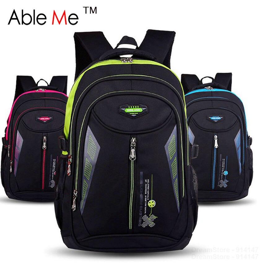 AbleMe New 2017 Children Schoolbag Backpack Mochilas Escolares Infantis Large Waterproof Comfotable Children School Bag Backpack<br>