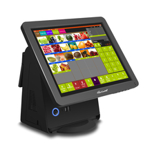 Aliexpress pos terminal all in one touch screen POS machine best quality cash computer for restaurant, supermarket