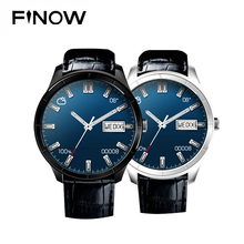 Original Finow Q3plus Smart Watch MTK 6580 Android 5.1 Quad Core Support BT WIFI GPS 3G watch PK KW88/ DM368 Smart Watch Phone