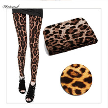 Bohocotol 2016 New Europe And The United States Women's Fashion Leopard Print Leggings Elastic Thin Nine Minutes Of Pants