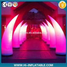 Wedding good quality decoration inflatable pillar for sale