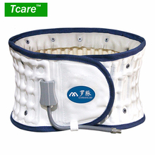 * Tcare 1Set Air-filled Waist Belt Lumbar Support Brace Health Care Waist Back Posture Corrector Pain Release Massager Health(China)