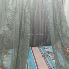 Functionality shielding radiation silver stainless steel king size bed mosquito net
