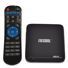 MECOOL M8S PRO Android 7.1 TV Box 2GB 16GB Amlogic S905X Quad Core Wifi 4K Kodi 17.1 Internet Smart TV Streaming Box Netflix(China)
