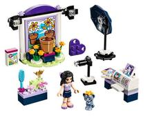 Bela 10601 Friends Series Emma's Photo Studio Building Block Bricks Toys Gift For Children 41305(China)