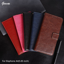 Buy Coque Elephone A4 Case 5.85 inch Flip Wallet Photo Frame PU Leather Case Stand Card Holder Cover Elephone A4 Phone Bags for $3.85 in AliExpress store
