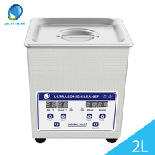 Digital Ultrasonic Cleaner 2L 60W 40kHz Baskets Jewelry Watches Dental Lavatrice Ultrasuoni Heated Ultrasonic Bath Cleaning Tank