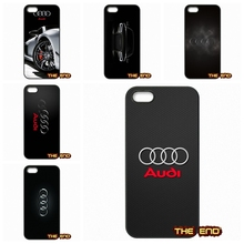 Awesome Audi Car RS Logo Hard Phone Cases Covers Capa For Sony Xperia M2 M4 M5 C C3 C4 C5 T3 E4 Z Z1 Z2 Z3 Z3 Z4 Z5 Compact